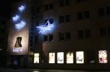 Gediminas ave at night | photo by BonjourPerfume