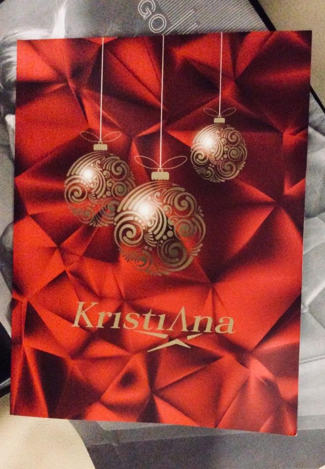Kristiana 2017 Christmas catalogue | photo by BonjourPerfume