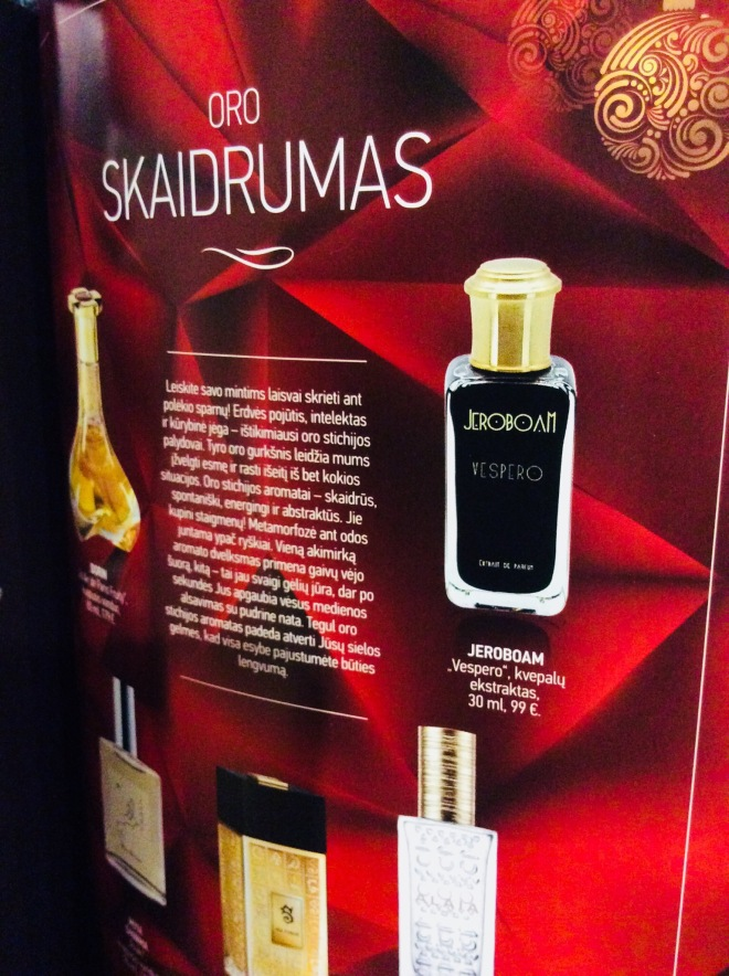 Jeroboam available in Kristiana | photo by BonjourPerfume