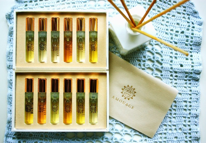 Amouage collection | photo by BonjourPerfume
