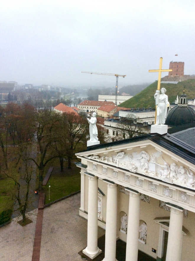 View from Bell Tower in Vilnius | photo by BonjourPerfume
