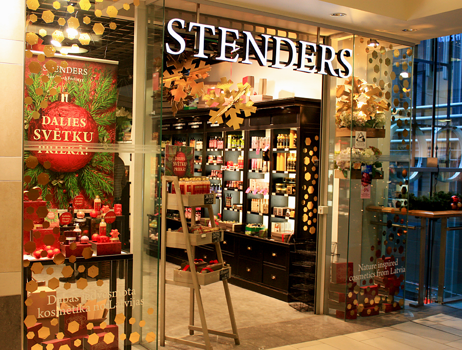 Stenders store in Riga | photo by BonjourPerfume