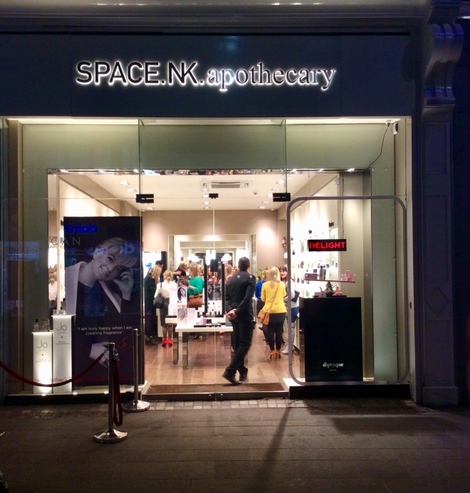 Space.NK apothecary on Grafton St | photo by BonjourPerfume