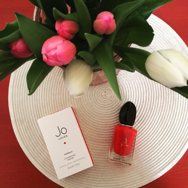 Jo Loves and Giorgio Armani | Photo by BonjourPerfume